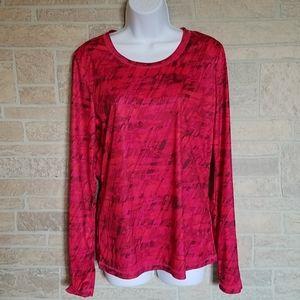 exertek Red Long Sleeve Top M